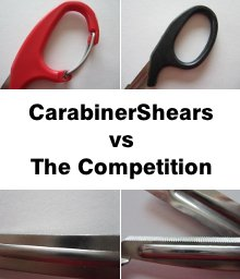 carabiner shears vs competition